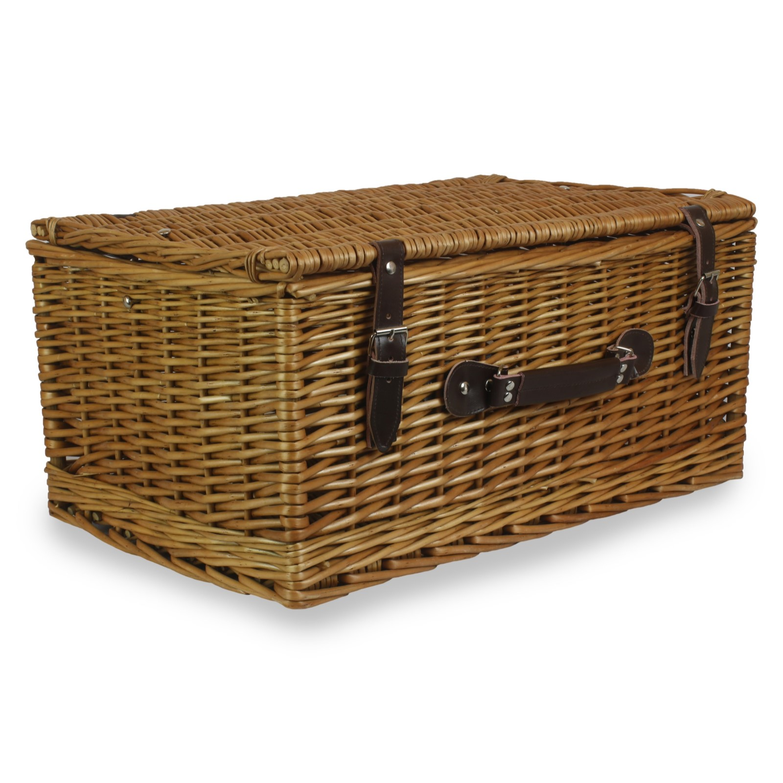 20 Inch Traditional Wicker Hamper Basket Cotswolds Hampers