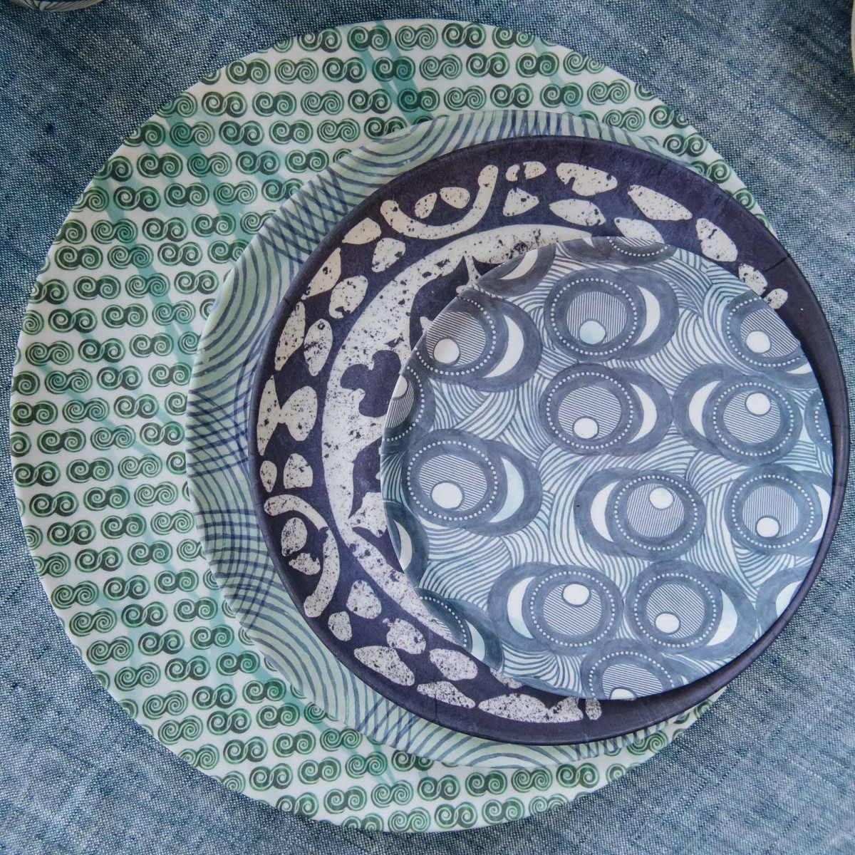 Bamboo Plates from Burford Garden Company