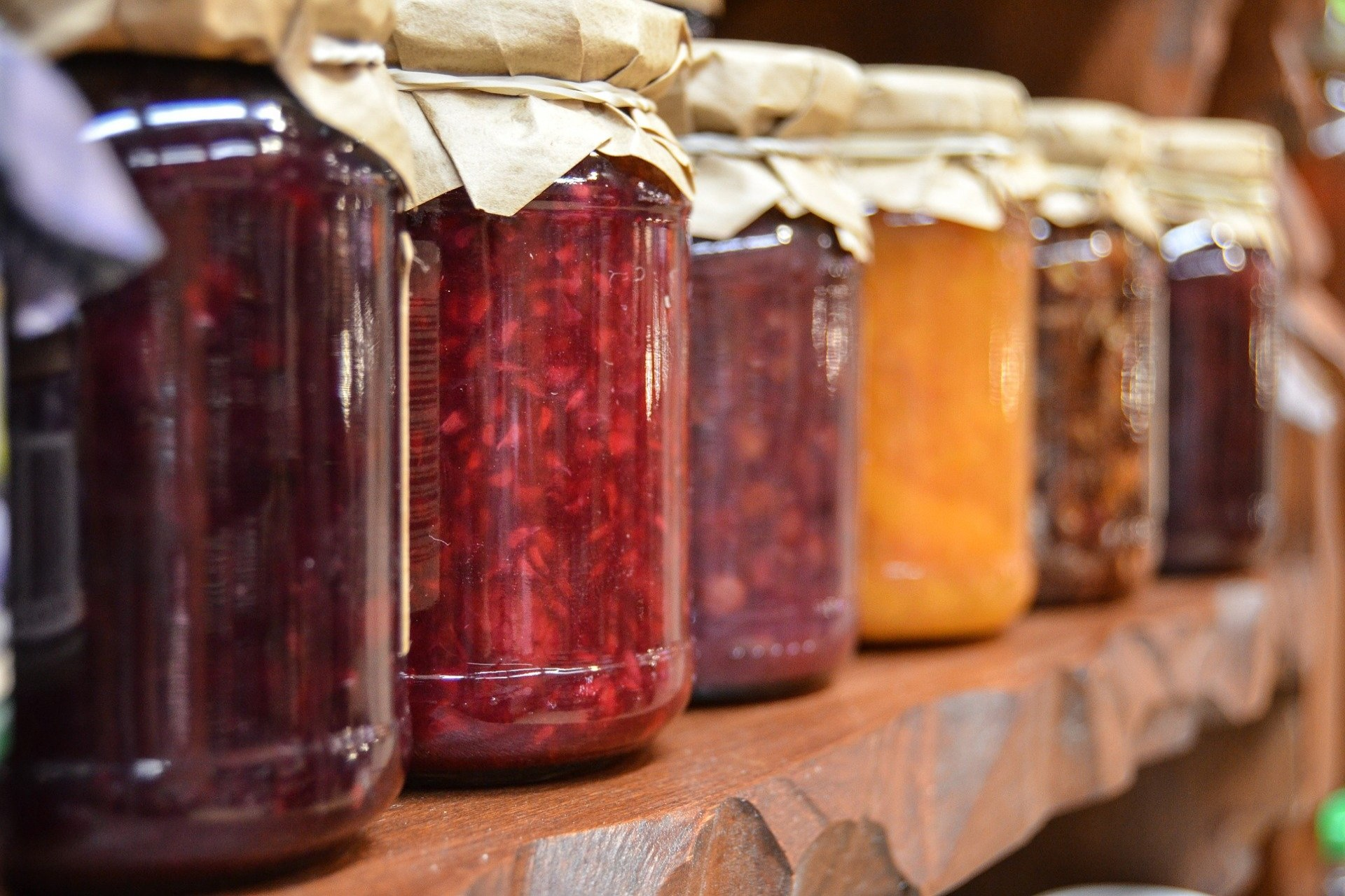 Homemade jams and preserves from Cotswolds Hampers