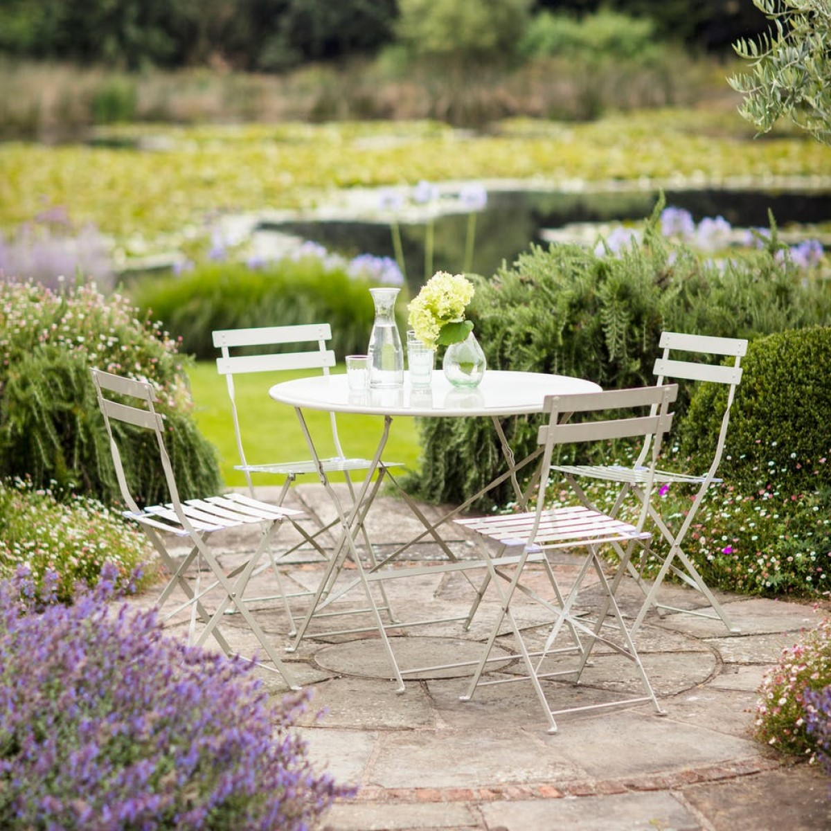 Rive Droite Bistro Set by The Garden Trading Company