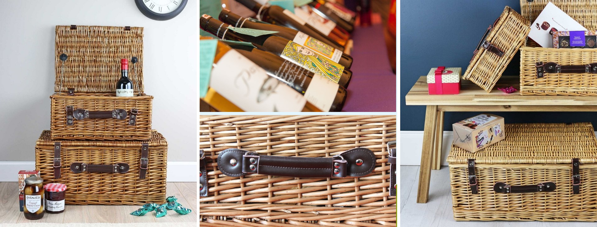 Cotswolds Hampers. Hampers and treat boxes filled with exceptional things to eat and delightful things to drink made by local artisans and independent producers.