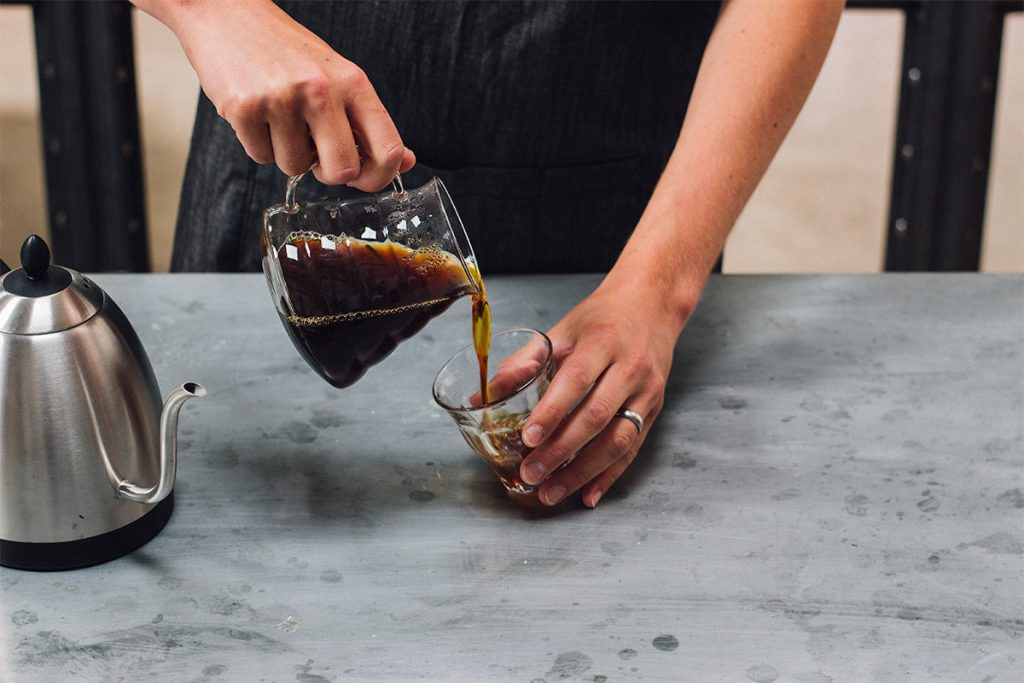 How to brew the perfect cup of pour-over coffee. Enjoy freshly-brewed pour-over coffee.